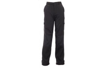Regatta Boys Winter Softshell Trousers black